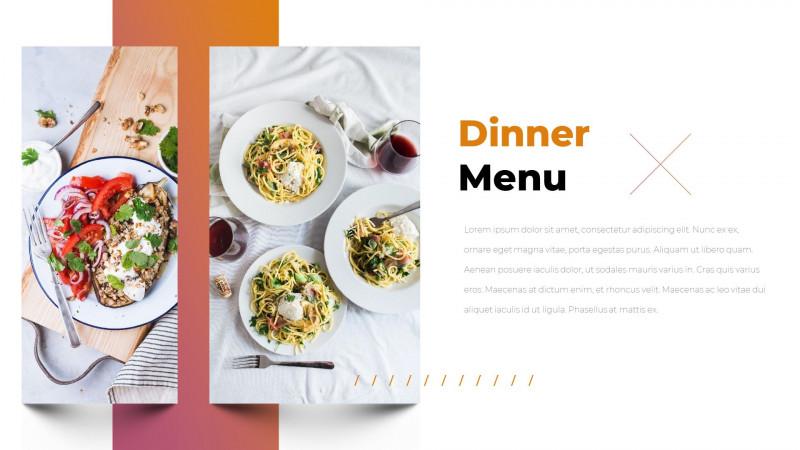 Restaurant Menu Powerpoint Template Unique Tasty Restaurant Powerpoint Templates Ad Restaurant Ad