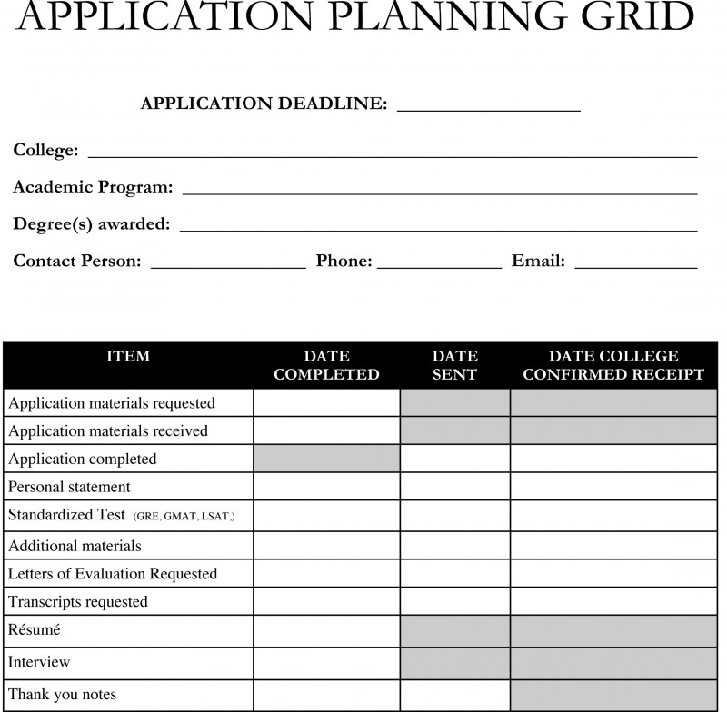 Template With Drop Down Menu Unique Planning On Applying To Graduate School Use This
