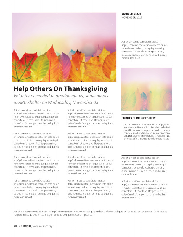Thanksgiving Day Menu Template New Thanksgiving Greetings Newsletter