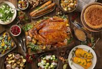 Thanksgiving Day Menu Template Unique Classic Thanksgiving Menu and Recipes