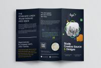 Tri Fold Menu Template Photoshop Awesome Logic Professional Corporate Tri Fold Brochure Template