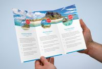Tri Fold Menu Template Photoshop New Brochure Travel Agency Tri Fold by Artbart On Envato Elements