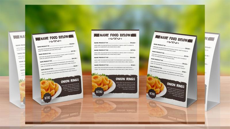 Wedding Menu Templates Free Download New 33 Beautiful Restaurant Menu Designs Psd Eps Ai Free