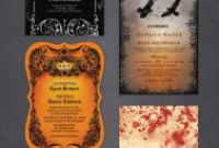 Wedding Rsvp Menu Choice Template Unique Halloween Wedding Invitations Free Printable Templates