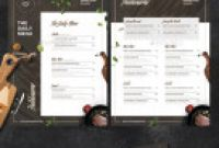 Weekly Dinner Menu Template Awesome Menu Templates From Graphicriver