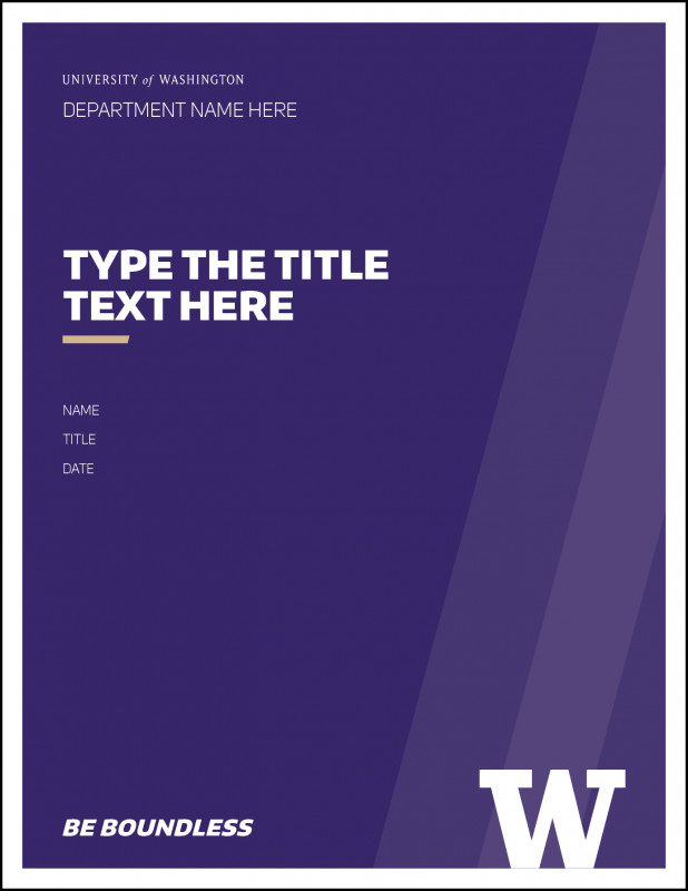 Word Document Menu Template Unique Styled Word Documents Uw Brand
